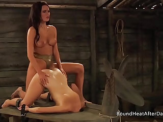 The Submissive Receiving Pleasure And Pain In Bondage