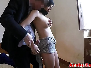 Stunning babe gets drilled by big cock
