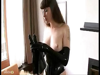 BDSM Latex Solo sexvideo.wtf