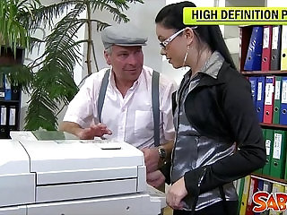 Office Anal Fucking