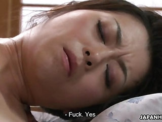 Hairy Asian licked and toyed