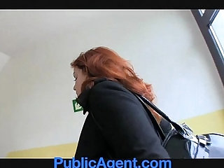 PublicAgent Married redhead Anal in the Cellar