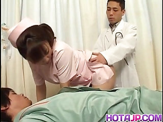 Meguru Kosaka nurse is fucked by sucked dick
