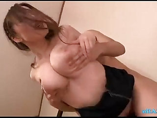 Office Lady With Huge Tits Sucking Cocks Fucked By Guys In The Empty Room