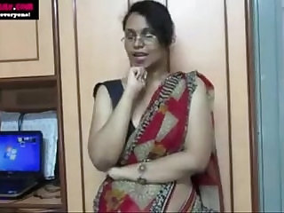 Horny Lily Giving Indian Porn Lesson To Young Students