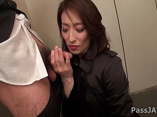 Mature lady Marina nasty at the office