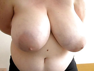 Debbie Swinging Big Boobs First video ever