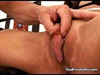 Clipping The Peeking Stiff Clit