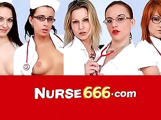 Specula self exam of hot Czech blonde nurse Victoria Puppy