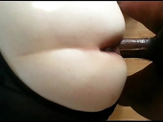 Turkish Delight getting black cock from behind