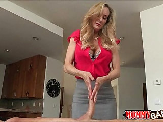 Taylor Whyte and Brandi Love threesome on massage table
