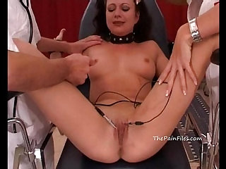 Medical bdsm and extreme doctors fetish of crying amateur slaveslut tortured to