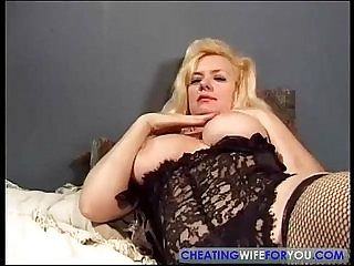 Old MILF Fucked by Sons Friend