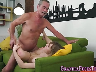 Teen spermed by old man