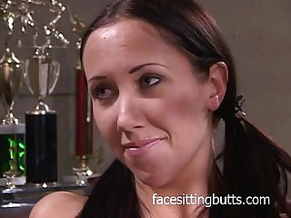 Deep hard anal drilling in the principals office