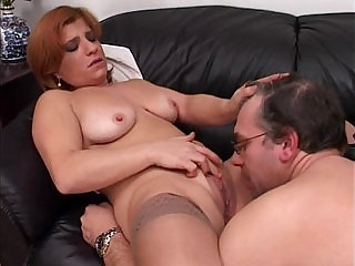 Elder couple making love sex