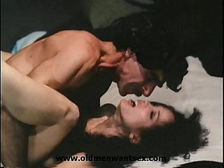 Old man Harry Reems Vintage Porn Star loves young asian girl