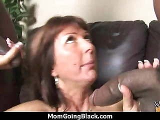 Huge Black Cock Destroys Amateur Housewife
