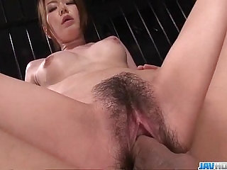 China Mimura obedient girls gets pumped with some toys