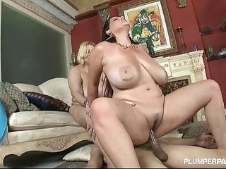 Samantha and angelina castro double team stud