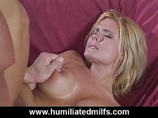 Screams From Her First Ever Anal