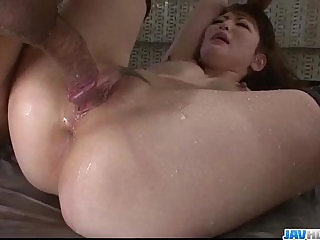 Tomoka Sakurai obeys in dirty threesome bondage