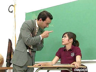 lovely brunette teen babe getting fucked by her horny prof