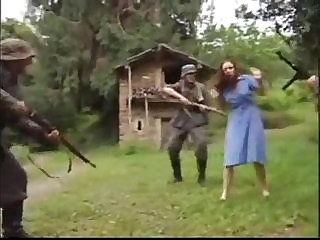 Teen pussy Fucked by Perv Soldier