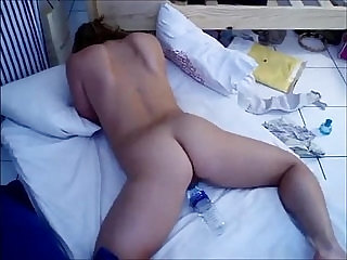 Curvy redhead pussy and ass fucked